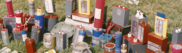 Mixed variety of capacitors for several applications