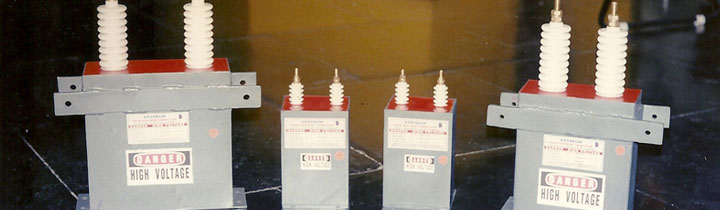 High voltage Radio Station Capacitors
